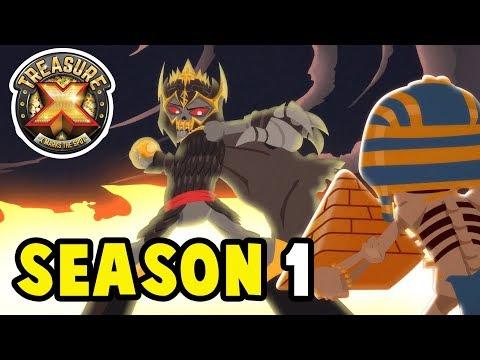 Treasure X   Season 1 FULL SERIES   Cartoons for Children
