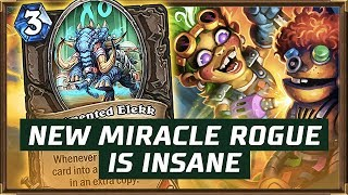 New Miracle Rogue Is Insane | The Boomsday Project | Hearthstone
