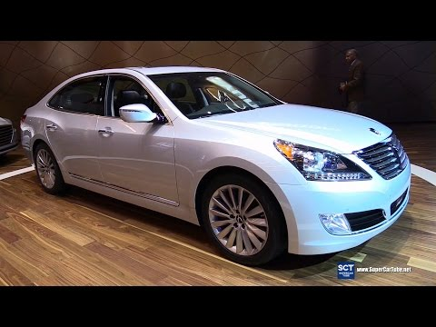 2016 Hyundai Equus Exterior and Interior Walkaround 2015 LA Auto Show