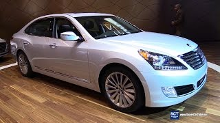2016 Hyundai Equus Exterior and Interior Walkaround 2015 LA Auto Show смотреть