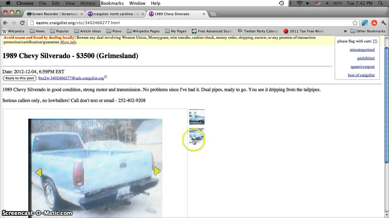 Used Cars And Trucks Craigslist