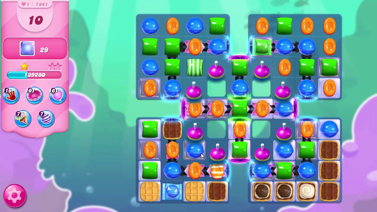 Candy Crush Booster Weg