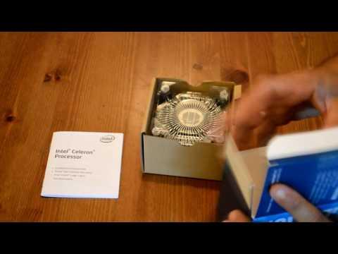 Intel Celeron G3900 Unboxing