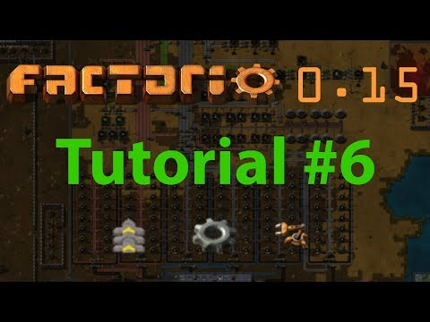 "Factorio Tutorial #6 - Supplies (aka ""mall"" or ""build everything"")"