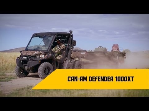 Обзор Can-Am Defender XT CAMO