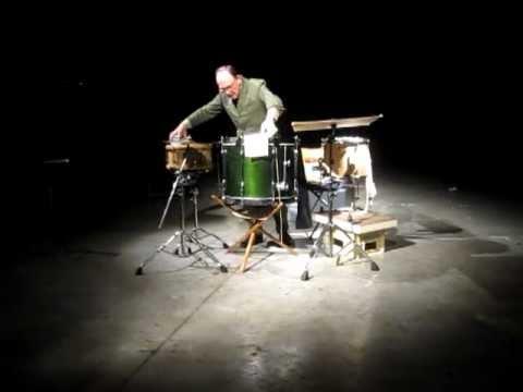 Sven-Åke Johansson, live at Ultra Eczema's Bruismelk Festival, Scheld'apen, 2012-09-15 [fragment 2]