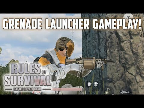 THE *NEW* GRENADE LAUNCHER! - Rules of Survival