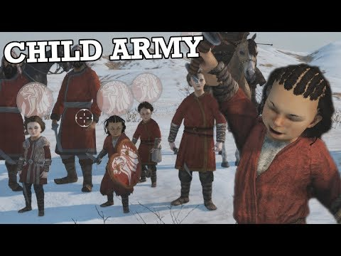 Using Child Conscripts In Mount & Blade II: Bannerlord