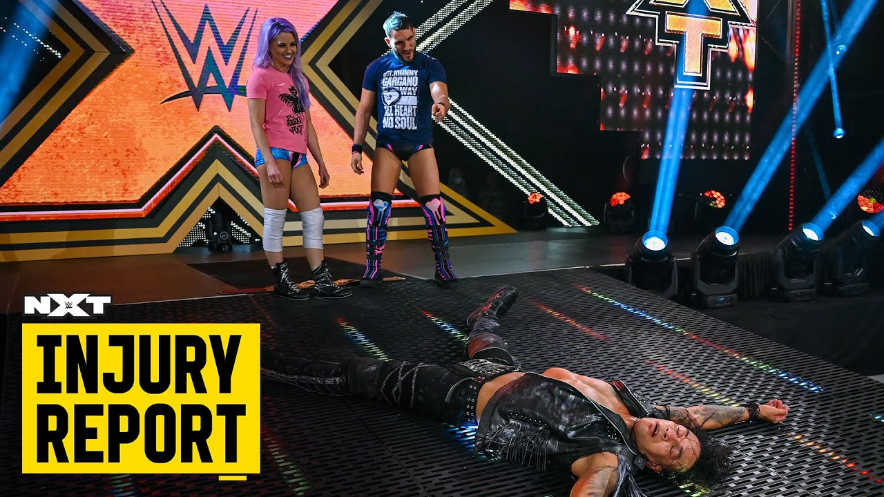 Damian Priest's status after Johnny Gargano's attack: NXT Injury Report, Oct. 15, 2020