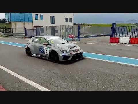 Seat In Test Autodromo 2018