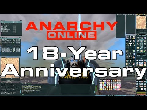 Anarchy Online –  18th – Anniversary