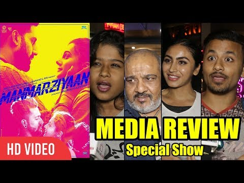 Manmarziyaan Movie Review | Special Show For Media | Abhishek Bachchan, Vicky Kaushal, Taapsee Pannu