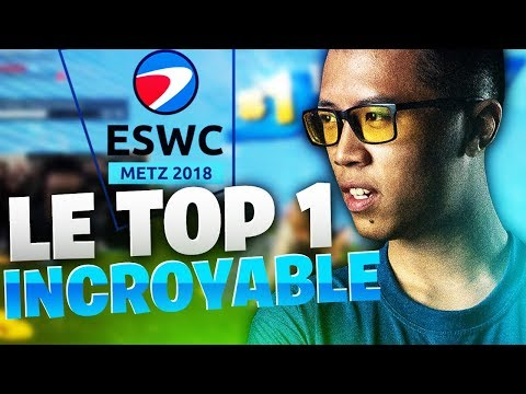 LE TOP 1 INCROYABLE DE KINSTAAR - GAME DE PREPARATION DE L'ESWC METZ 2018