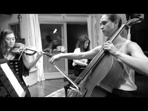 Olivia Gay Violoncelle ,Ryoko Yano Violon et Célimène Daudet Piano : Johannes Brahms TRIO  n° 1 op.8