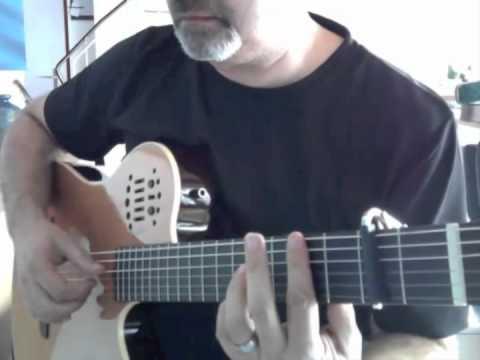 Cavatina Easy Version On Guitar Youtube