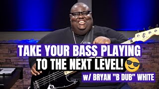"""Sunday Morning Grooves"" on Bass Guitar - Episode 1 w/ Bryan ""B Dub"" White - Bass Lesson"