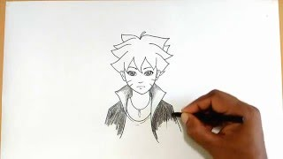 How to Draw Boruto Uzumaki from Naruto(Learn how to draw Boruto Uzumaki (Naruto's son) from the Naruto anime in this step by step drawing tutorial., 2016-01-27T11:15:46.000Z)