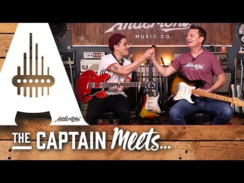 The Captain Meets Andy Cortes - Sweet Tones & Feel for Days!