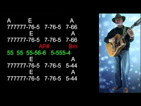 nº186 Fernando ( Abba ) tablatura armonica A diatonica +chords mundharmonica