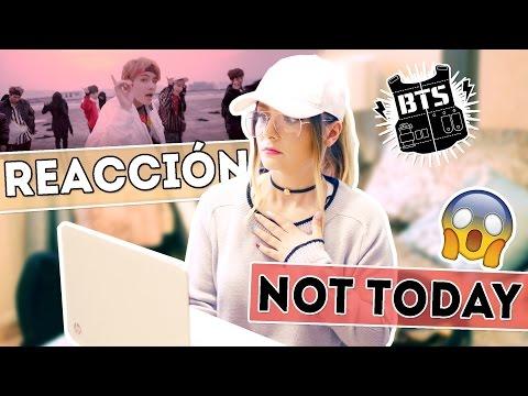 """¡Reaccionando al video """"Not Today"""" de BTS!"""