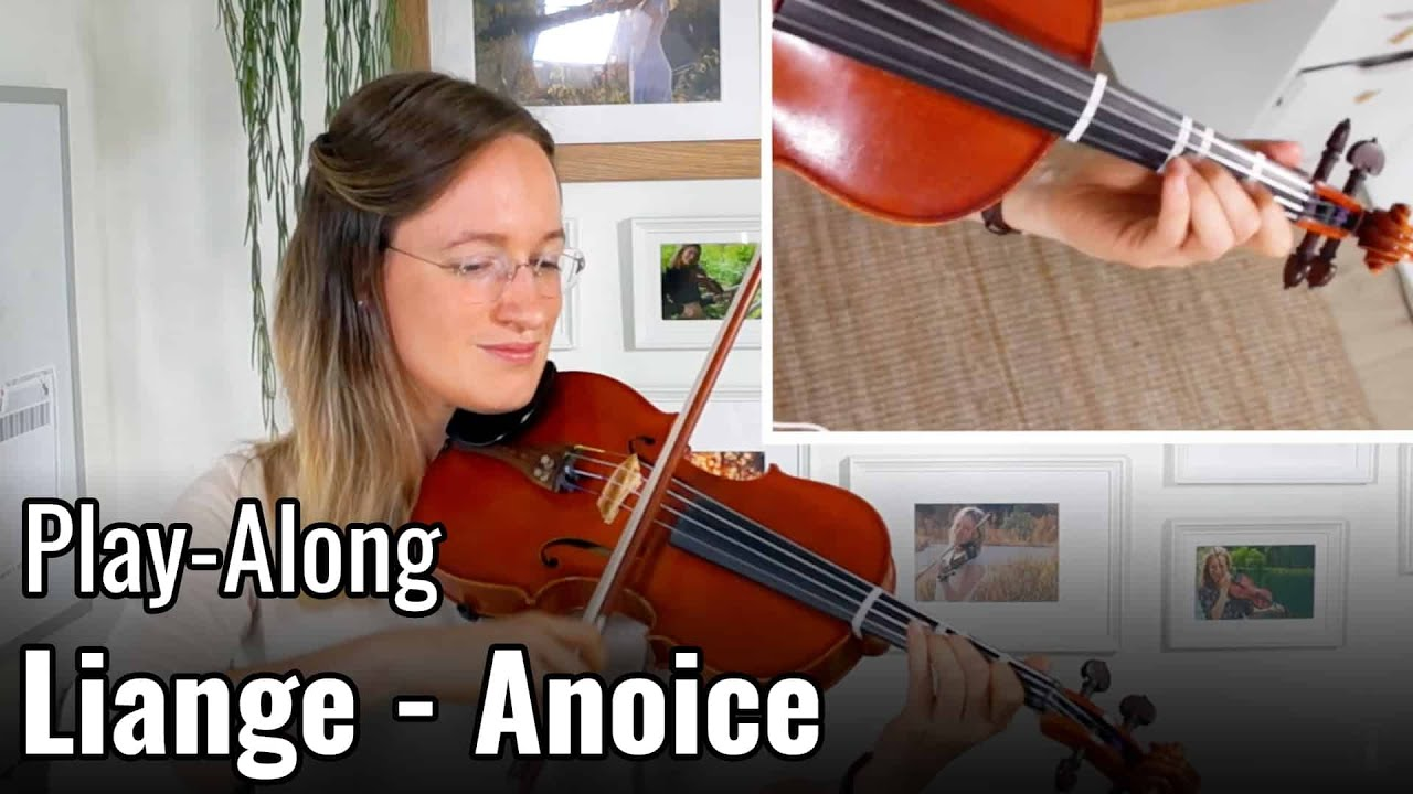 How to play Liange - Anoice  | Play-Along | Upper Beginner Song | Violin Tutorial