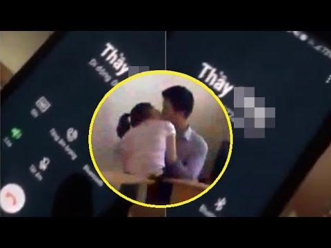 Xôn xao : Clip thầy giáo gạ tình nữ sinh lớp 10, cuộc điện thoại thanh minh nhằm thoát tội