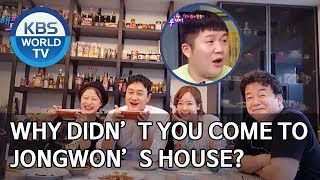 Saeho, why didn't you come to Jongwon & Yujin's house? [Happy Together/2020.02.20]