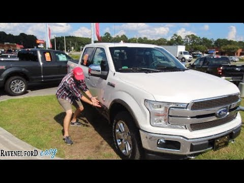 🔴 NEW 2018 FORD F150 3.0L Power Stroke Diesel FX4 w/King Ranch Package | Full Review & Test Drive