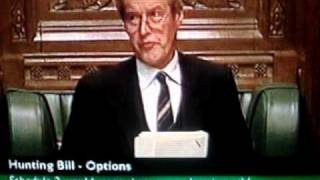 House of Commons, sir Alan Haselhurst maintains order late 1990s