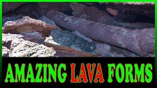 Exploring Amazing Lava Flow Formations from the Kilauea Volcano Eruption LATT12
