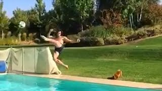 فيديو: غاريث بيل يقوم بمقصية تدرس للجميع