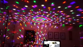 CFL-0015 Yarım Dünya Müzik Kutusu Disco Lambası