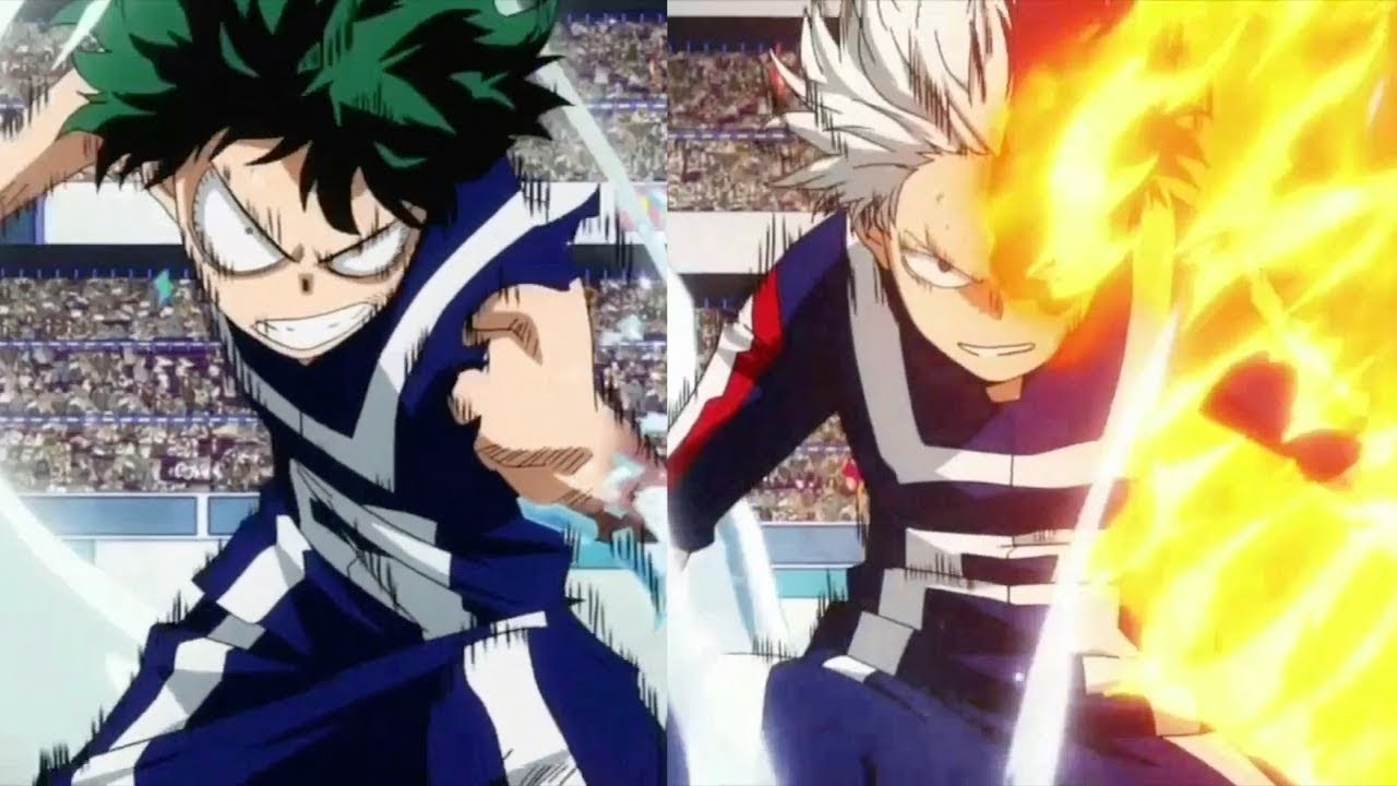 Midoriya Vs Todoroki Amv Boku No Hero Academia 2 Youtube