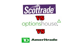 Review of OptionsHouse vs Scottrade vs TD Ameritrade - Best Place to Buy Options?