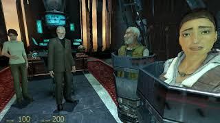 Half Life 2.   Телепорт.  Часть  28.
