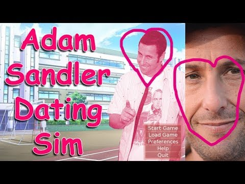 Adam sandler dating sim pewdiepie legend