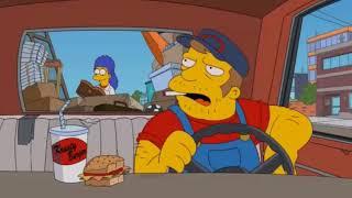 Симпсоны - самые смешные моменты (Русский флот в Нью-Йорке)