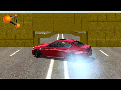 Download Youtube: BeamNG.drive - Impossible Car Stunts #2