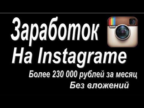 Готовый бизнес. Заработок на Instagrame без вложений. Новая Бизнес Идея 2014