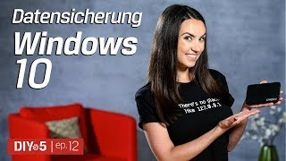 Datensicherung in Windows 10 - Kingston DIY in 5 Ep. 12