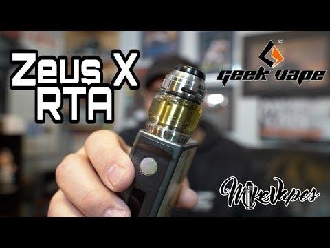 Geek Vape Zeus X RTA Coil & Wicking Tutorial