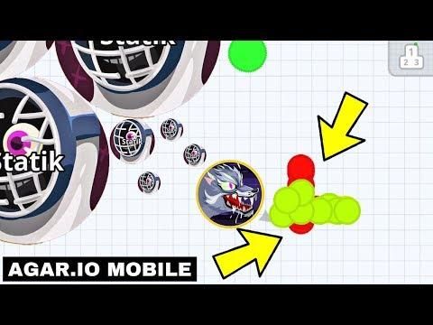 Agar.io Mobile INSANE SOLO Revenge Takeover!! 1 Pro vs Noobs!! (AGARIO Gameplay) thumbnail