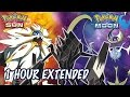 Solgaleo Lunala Necrozma Legendary Battle Theme - 1 HOUR -