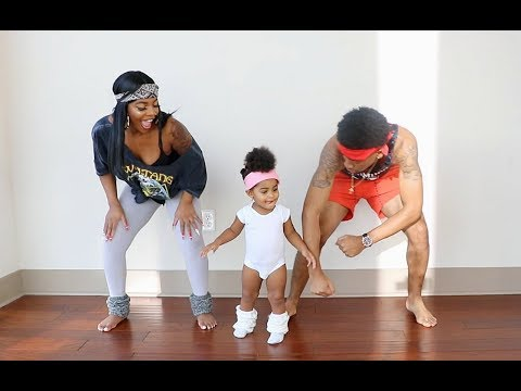 Download Youtube: FUNNIEST/ CUTEST 80's DANCE CLASS WITH 1 YEAR OLD!!!!