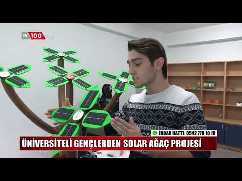 "IEEE BAUN Power Energy Society "" Solar Ağaç Projesi """