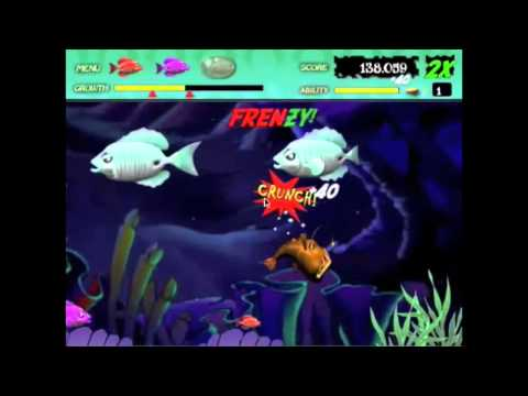 Feeding Frenzy online game- GamePlay from YouTube · Duration:  3 minutes 30 seconds