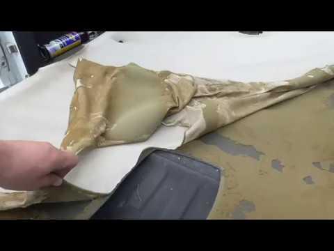 Dodge Dakota Headliner And Rear Window Repair Part 2