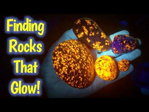 Fluorescent Yooperlite Hunting! Lake Superior Hidden Secrets | Crystal Gem Mining