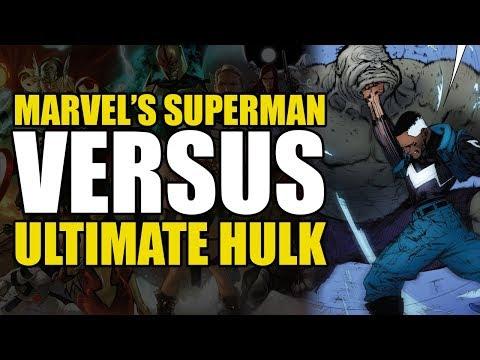 Marvel's Superman vs The Hulk (Ultimates2 Vol 2: Eternity War)