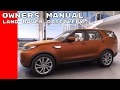 2017 Land Rover Discovery Owners Manual